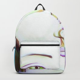 The peaceful soul Backpack