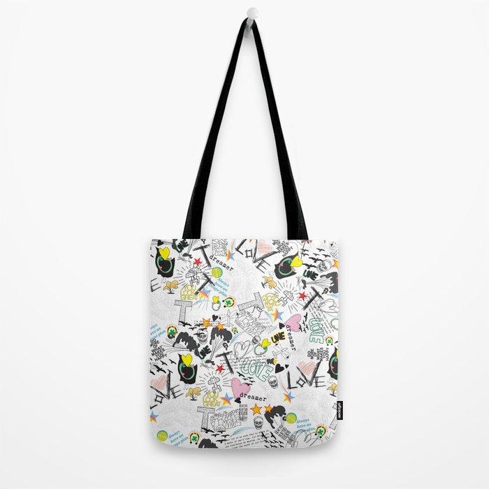 Pop Art ( Cartoon Pattern) V2 Tote Bag