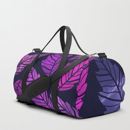 Colorful leaves III Duffle Bag