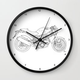 Ducati Monster 695d 2007 Wall Clock