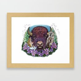 Glorious & Free Framed Art Print