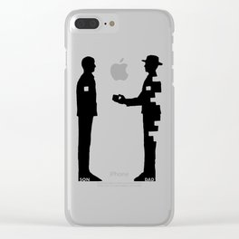 The Pursuit of Happyness Clear iPhone Case