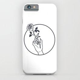 Smokin' Rose iPhone Case