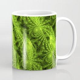 Green Plant Fractal Coffee Mug