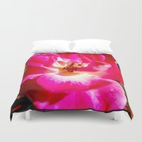 zappa Duvet Covers featuring flower by Diva Zappa
