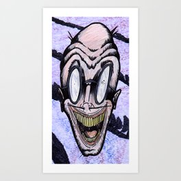 The Creep Art Print