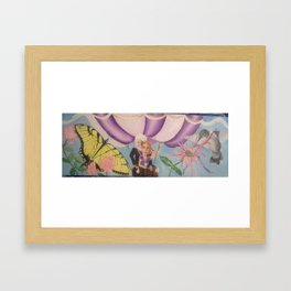 Magic Balloon Ride Framed Art Print