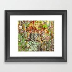 Crimson Petal's Lying Decay (2) Framed Art Print