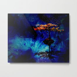 Sparks by the Lake Metal Print