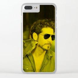 Jon Bernthal - Celebrity (Photographic Art) Clear iPhone Case