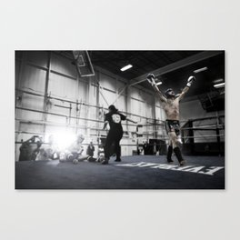 Anthony Santiago at nationals Canvas Print