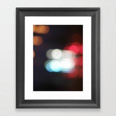 No glasses on Framed Art Print