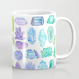 Rock, Mineral and Gemstone Print 1 Coffee Mug