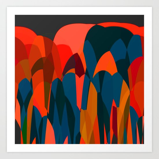 African Night Art Print