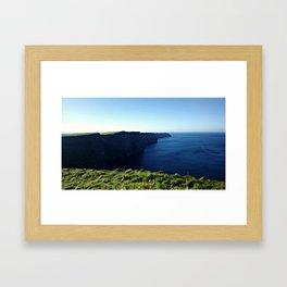 Cliffs of Moher (Simple) Framed Art Print