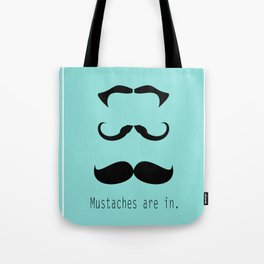 Mustache 3 of a Kind Tote Bag