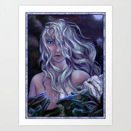 The Winter Spirit Art Print