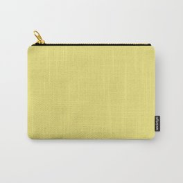 Pensive Daisy Yellow Carry-All Pouch
