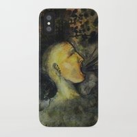 punk rock iPhone & iPod Cases featuring Punk by Shellie Mix