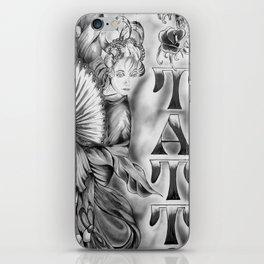 Tatts iPhone Skin