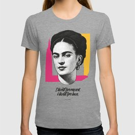 "Frida Kahlo - ""Vissi d'Arte"" Collection - Art Print T-shirt"