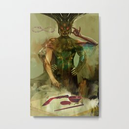 Tarot: The Magician Metal Print