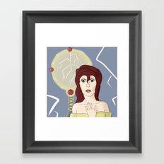 Broken Mirror Framed Art Print