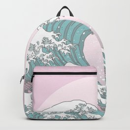 Great Wave Pastel Backpack