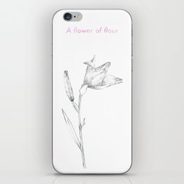 A flower of flour iPhone Skin