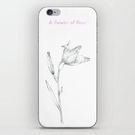 A flower of flour iPhone Skin