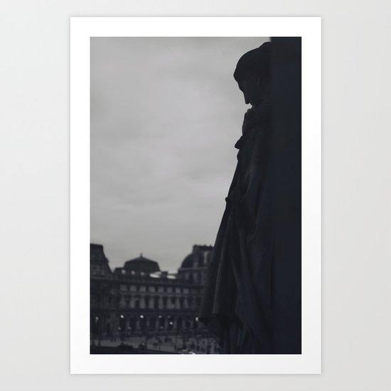 Static (2) Art Print