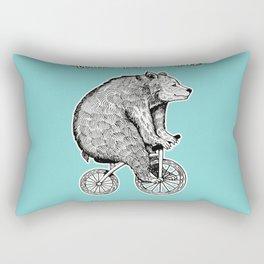 wont you ride my bicycle Rectangular Pillow