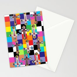 Jesus is The New Pattern 2 Stationery Cards