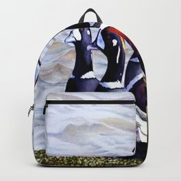 Harlequinn Ducks of LBI Backpack