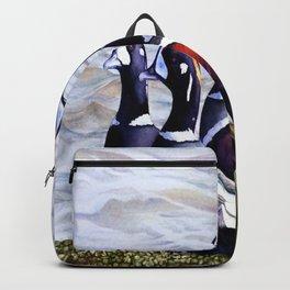 Harlequinn Ducks of LBI Backpack