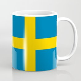National flag of Sweden Coffee Mug