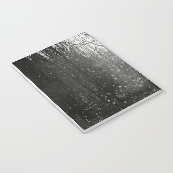 Black and White - In seed time learn, in harvest teach, in winter enjoy Notebook