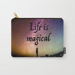 Life is magical Carry-All Pouch