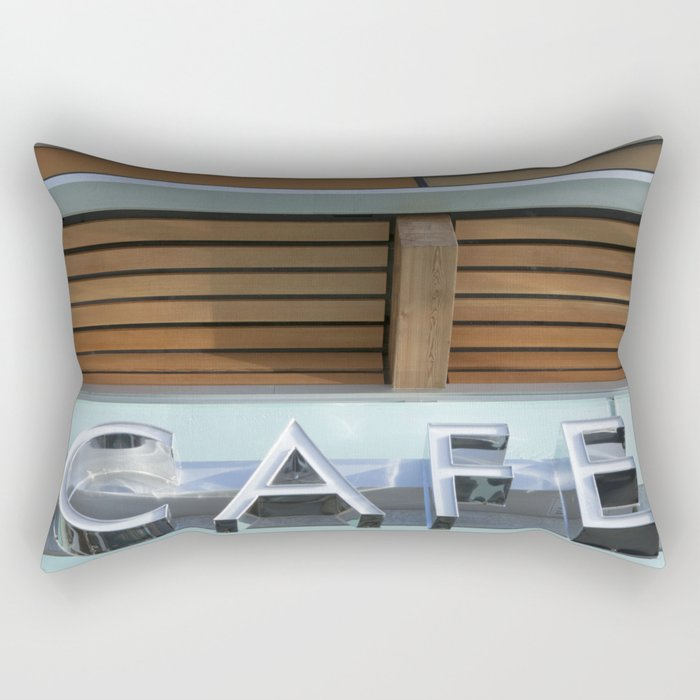 THE CAFE Rectangular Pillow