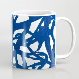 Blue Squiggles Coffee Mug