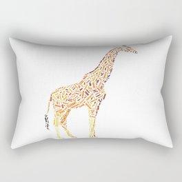 My Spirit Animal is a Giraffe Rectangular Pillow