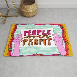 People Over Profit Rug
