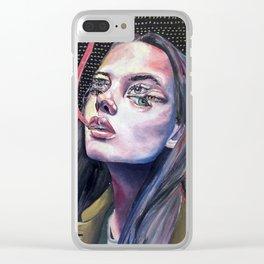ya girl got 6 eyes Clear iPhone Case