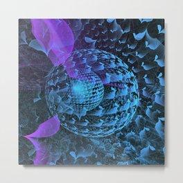 Spherical Abstract Metal Print