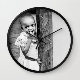 Tanzanian baby Wall Clock