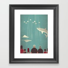 Day Trippers #9 - Aquarium Framed Art Print