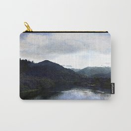 Distressed River Carry-All Pouch