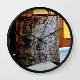 Barking Up The Right Tree Wall Clock