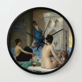 AFTER THE BATH - JEAN-LEON GEROME Wall Clock