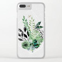 botanica Clear iPhone Case